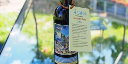 Provence Wine Project PANDAS AMMF Wine Bottle