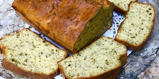 Zucchini Quick Bread Cake Courgettes
