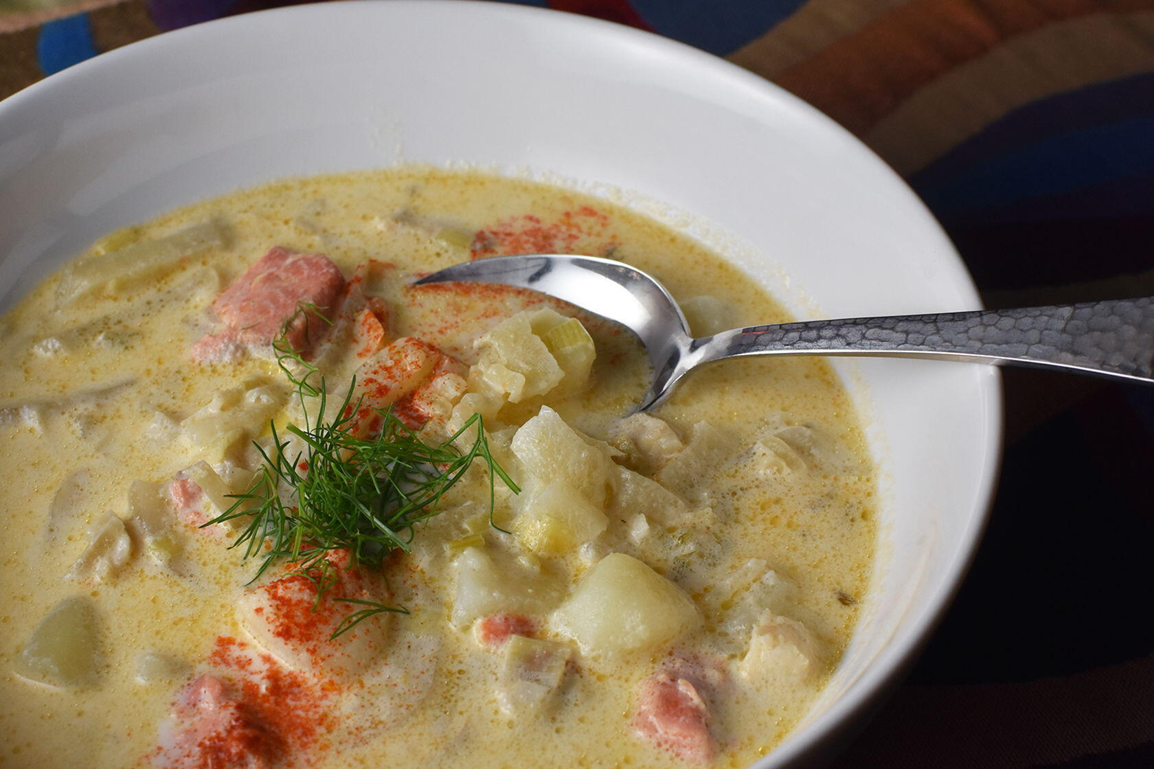 Fish Fennel Chowder Soup
