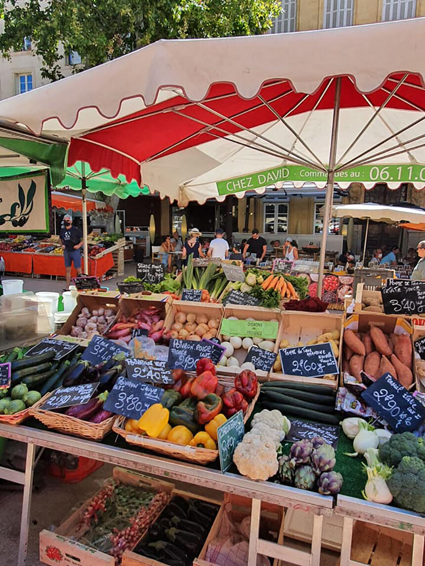 Food Markets Aix-en-Provence Nutrition Tips