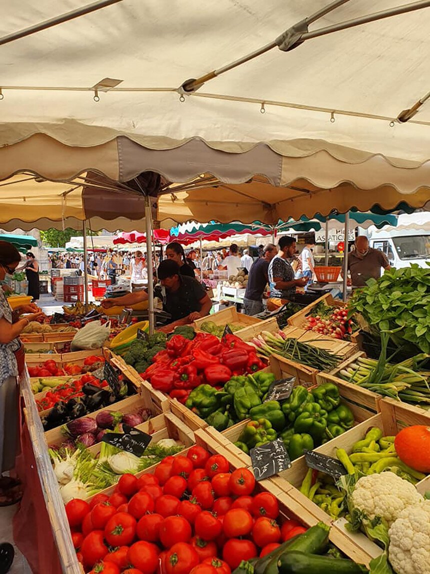 Food Markets Aix-en-Provence