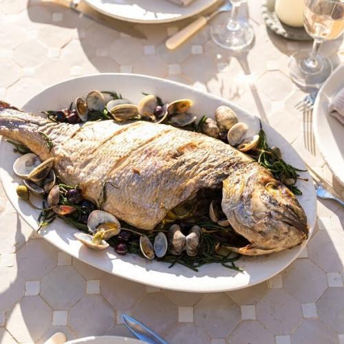 Grilled Sea Bream Fresh Seafood
