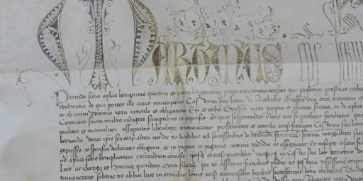 Parchments Archives Antibes History