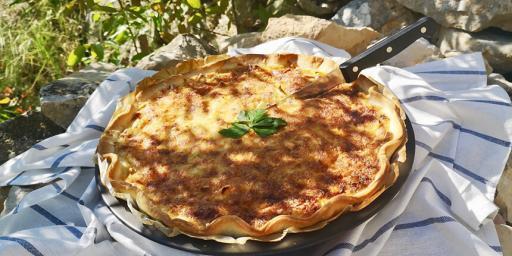 Savoury Leek Tart Provence Tarte fondante aux poireaux