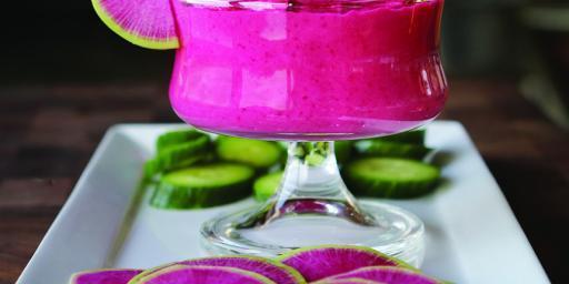 Roasted Red Beet Hummus a Vegan Recipe