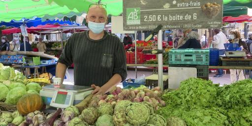 Aix-en-Provence Fresh Produce Market