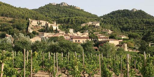 Gigondas Rhône Wine Village village creative commons attribution Jean-Marc Rosier from www.rosier.pro