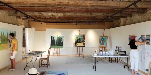 Artists' Studio at Moulin de Greoux